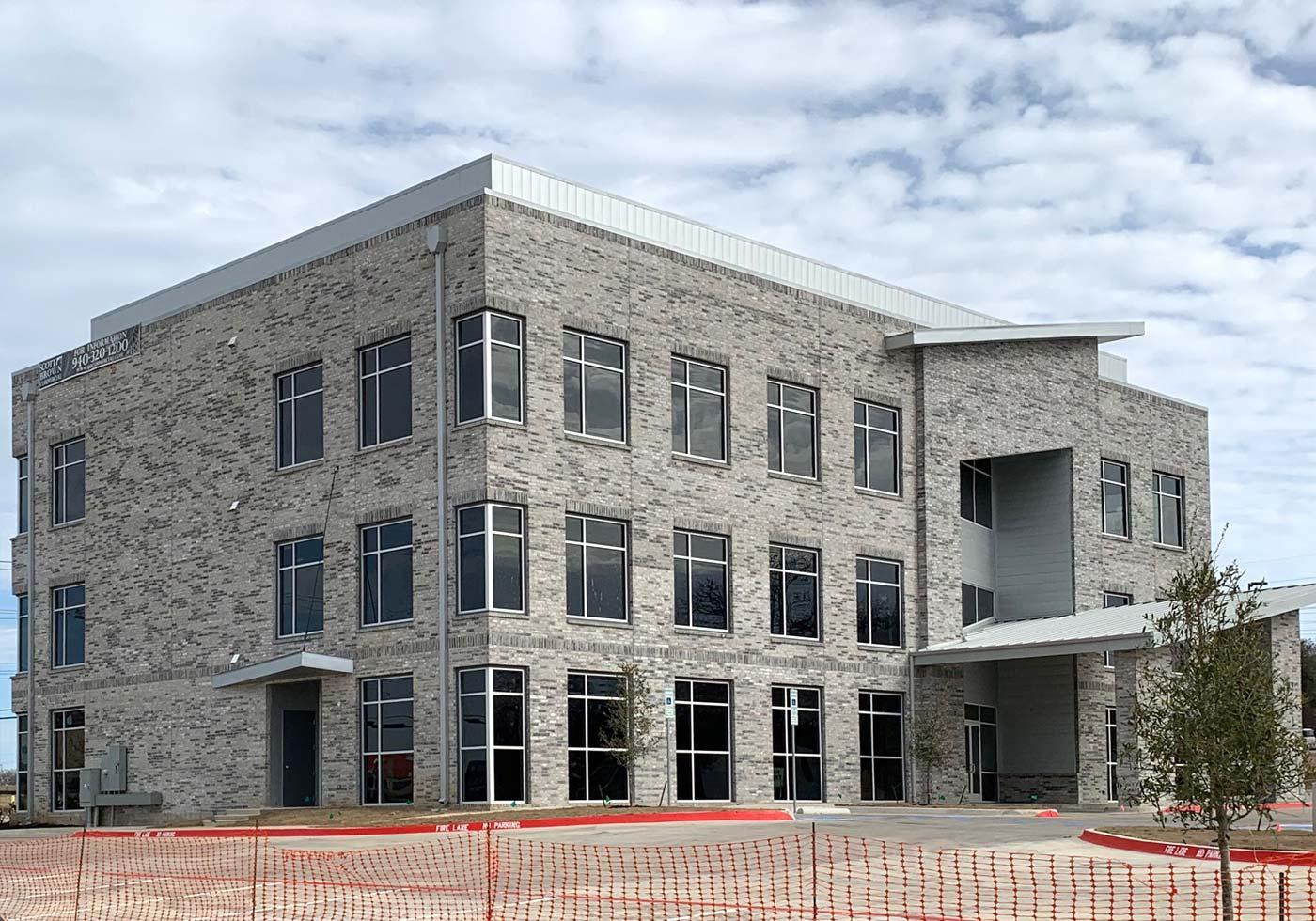 Commercial Building with Bilco Gettysburg Brick