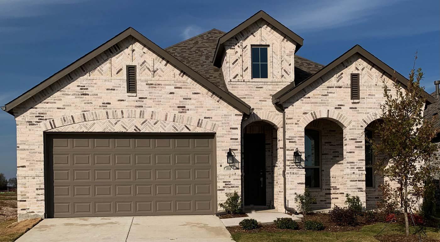 Home Elevation with Bilco Bristol Brick