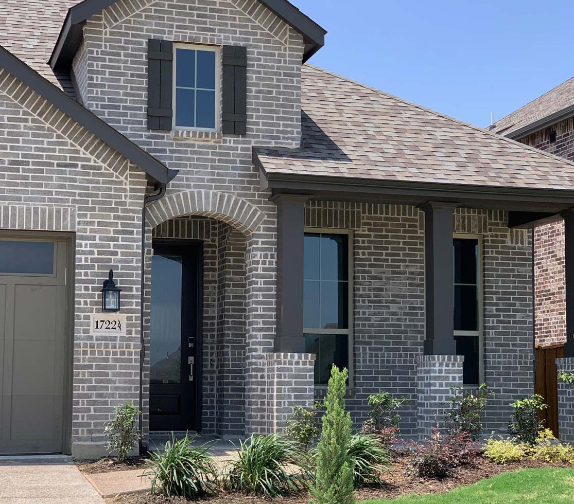 Bilco Brick Gray Mist Contemporary Solid Residential Brick
