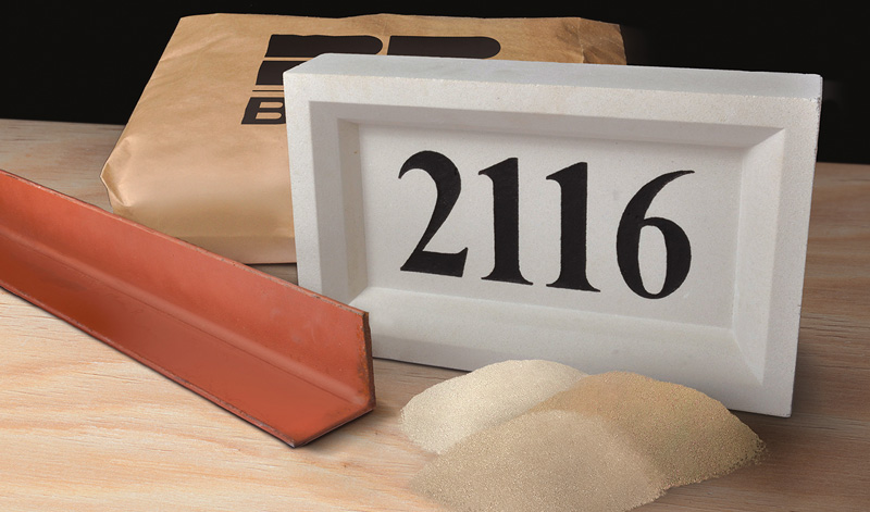 Masonry Supplies - Lintels, Angle Irons, Cast Stone Items, Sand