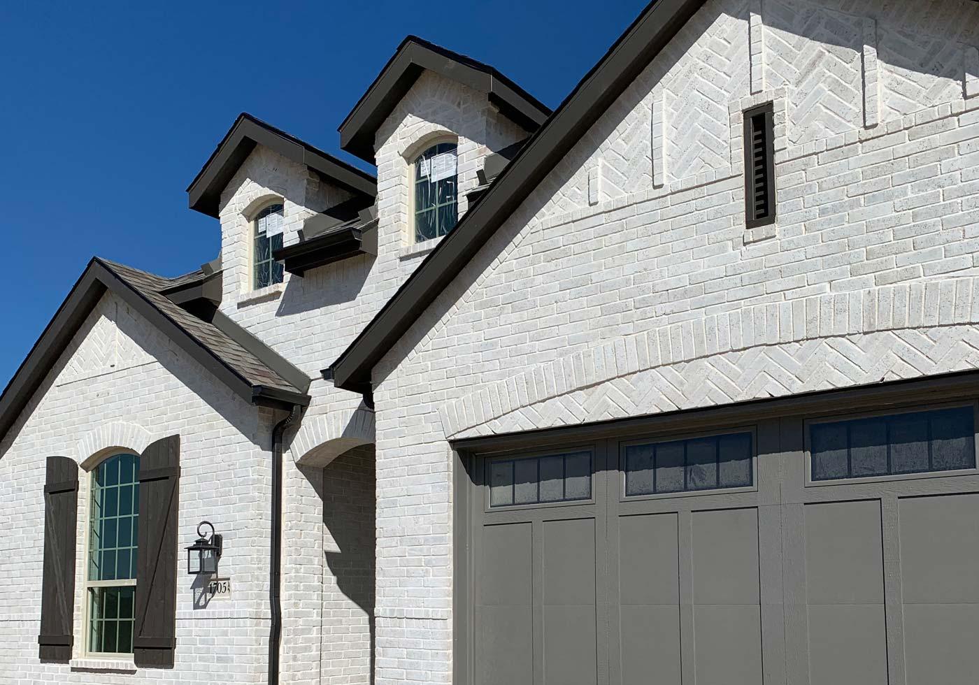 Bilco Phoenix White Brick Example Residential