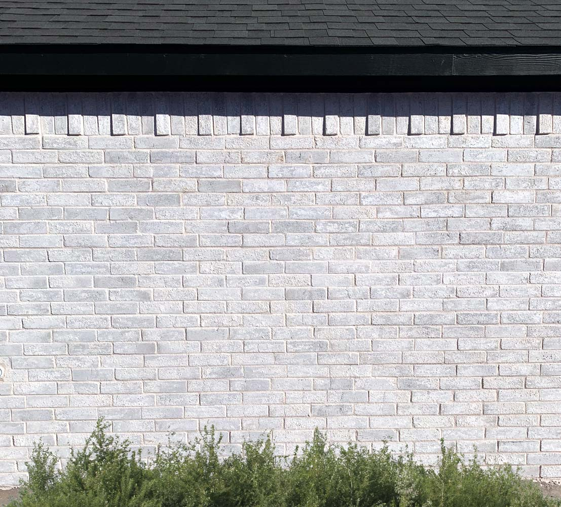 Bilco Brick Mountain Peak white brick