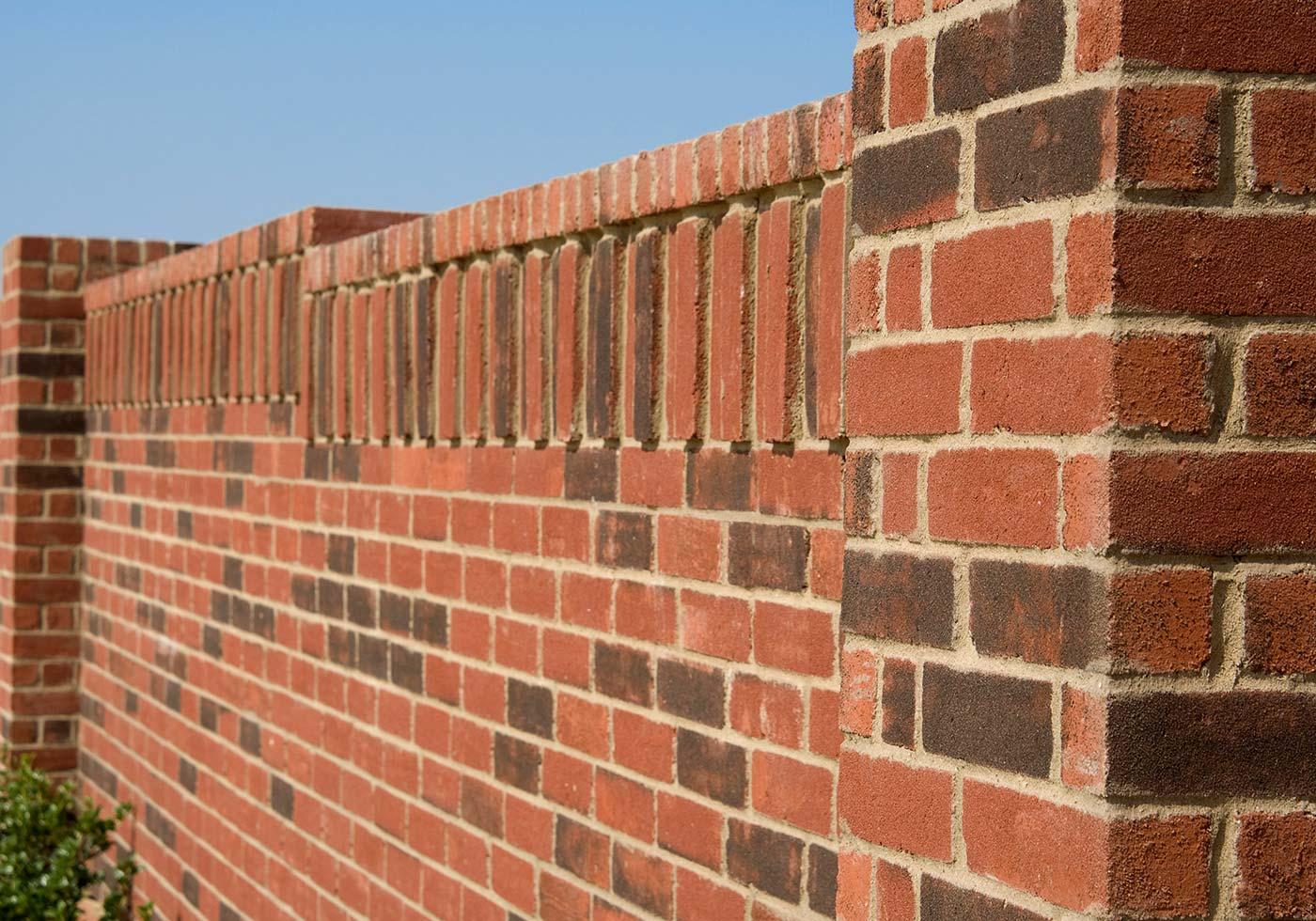 Cimarron brick detail