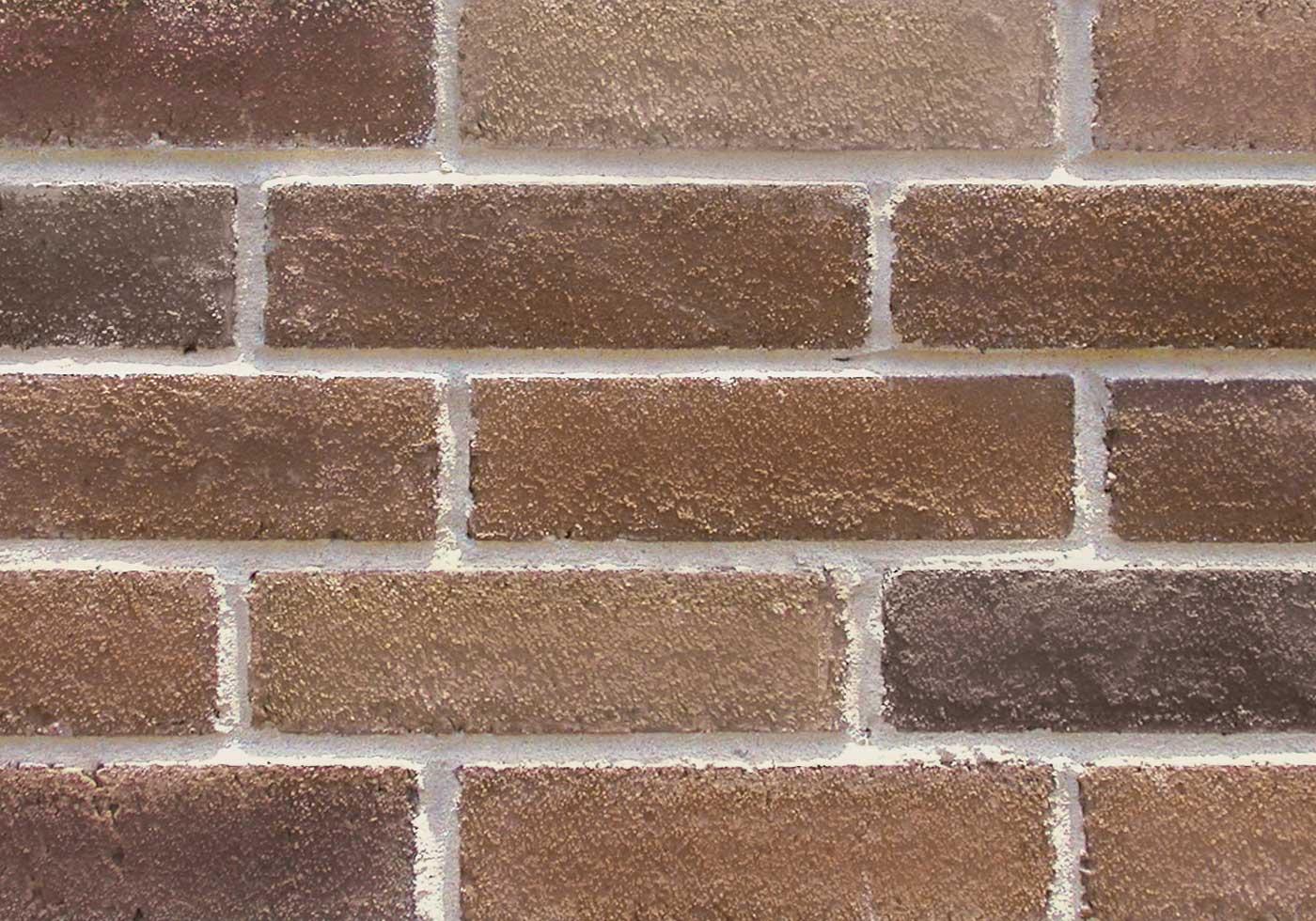 Foxboro brick close-up