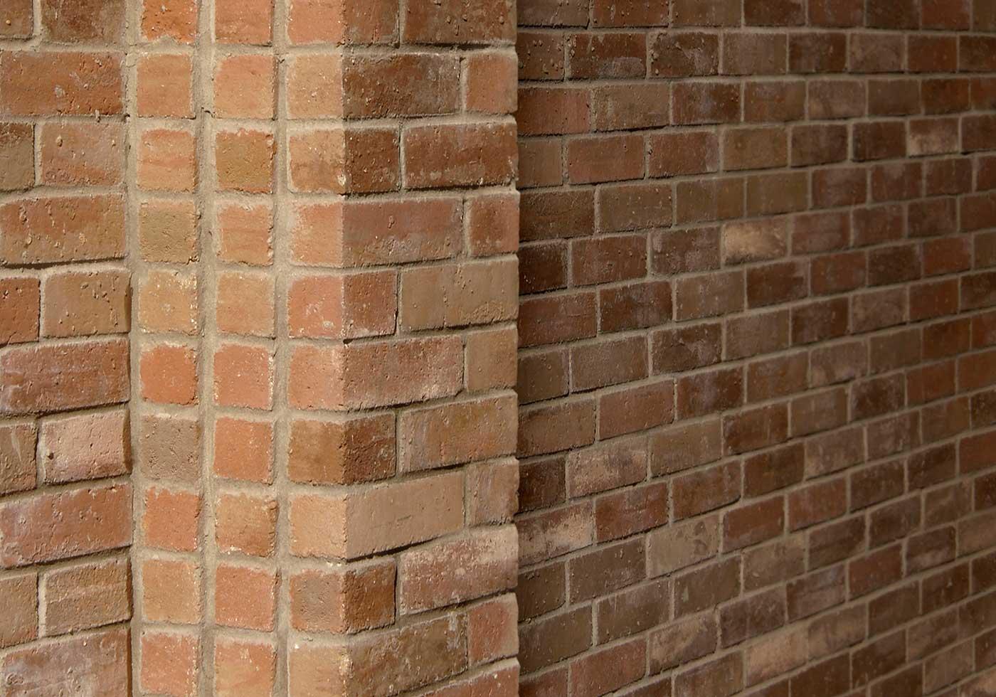 Majestic brick detail