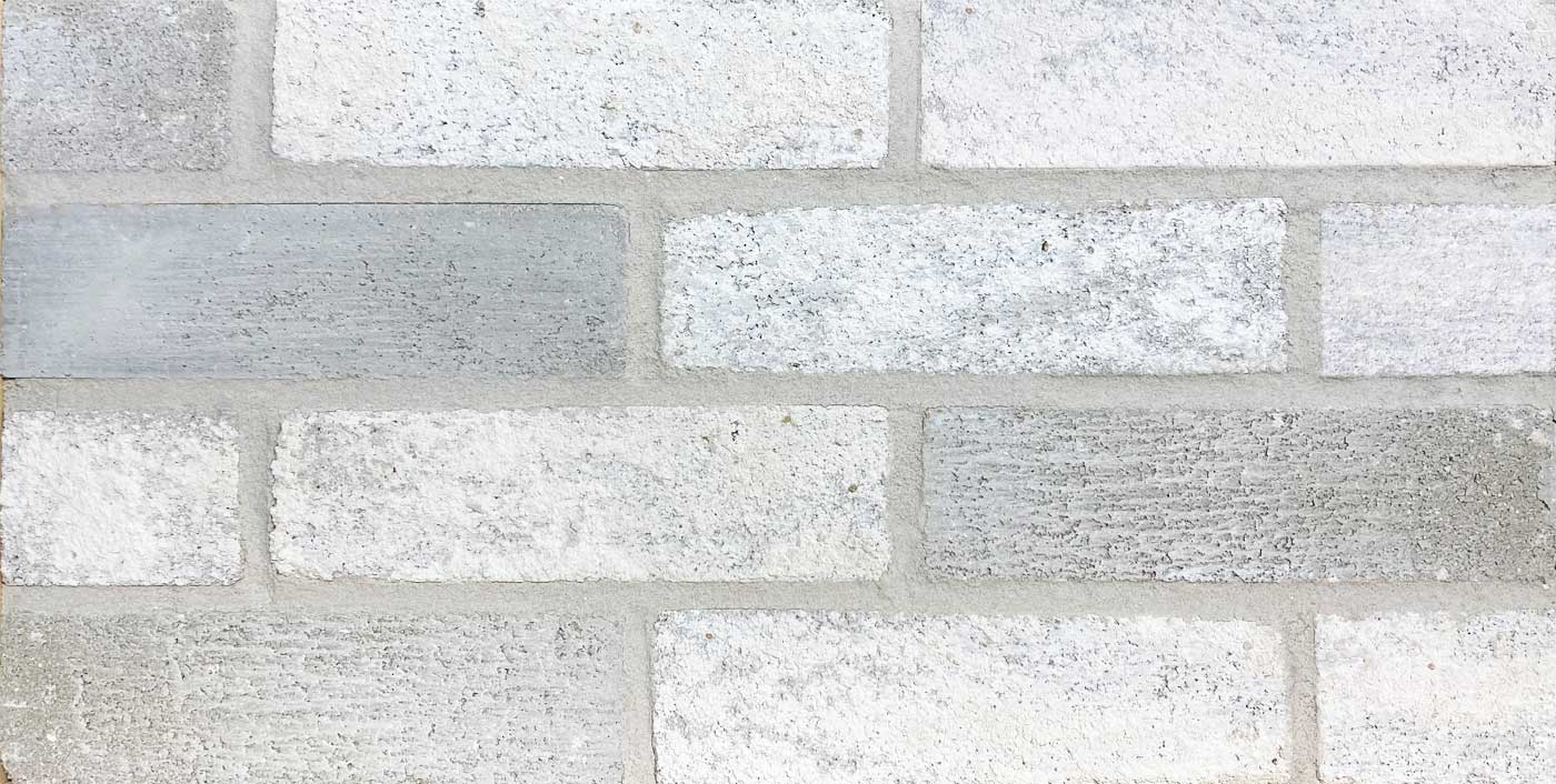 Bilco Mountain Peak white brick