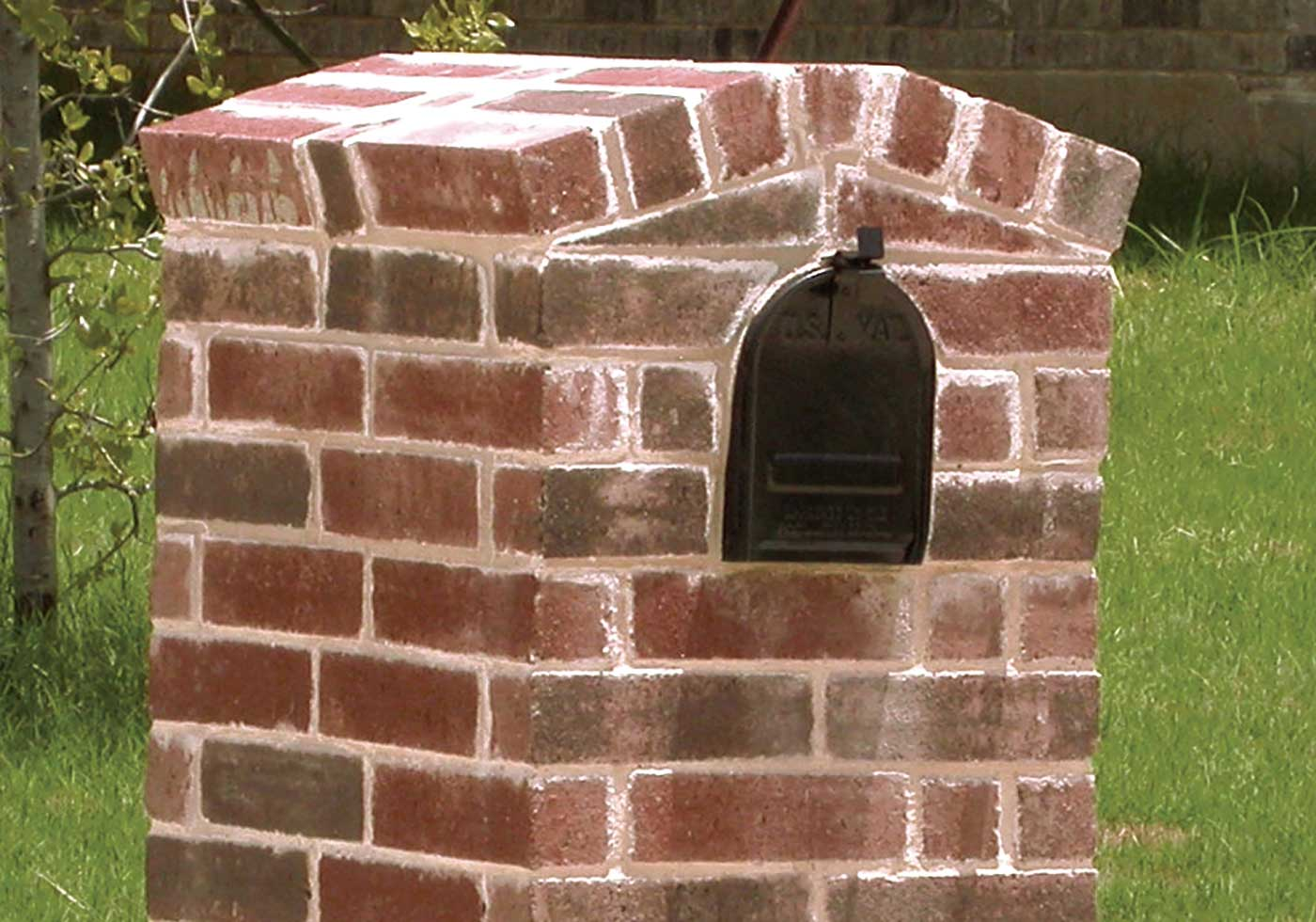 Nantucket brick detail