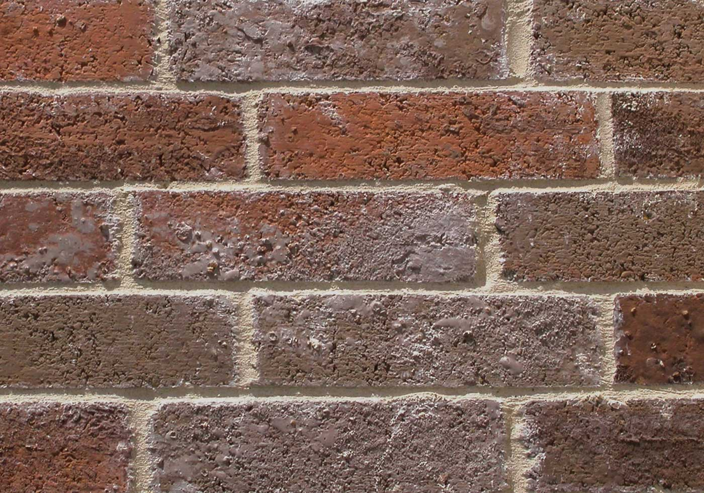 Pinehurst brick close-up