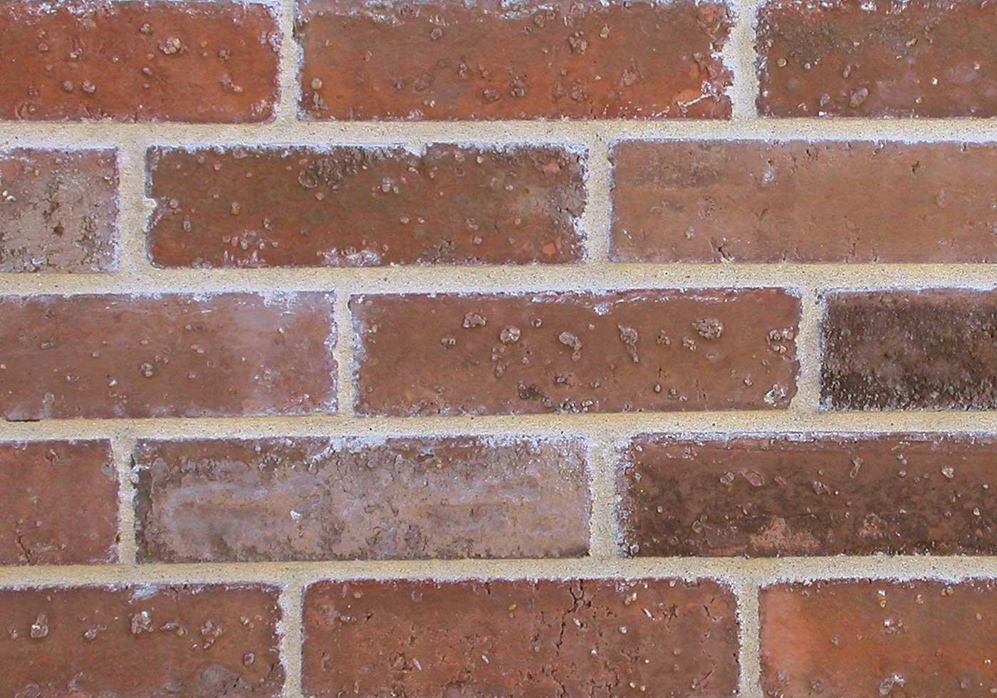 Prescott brick close-up