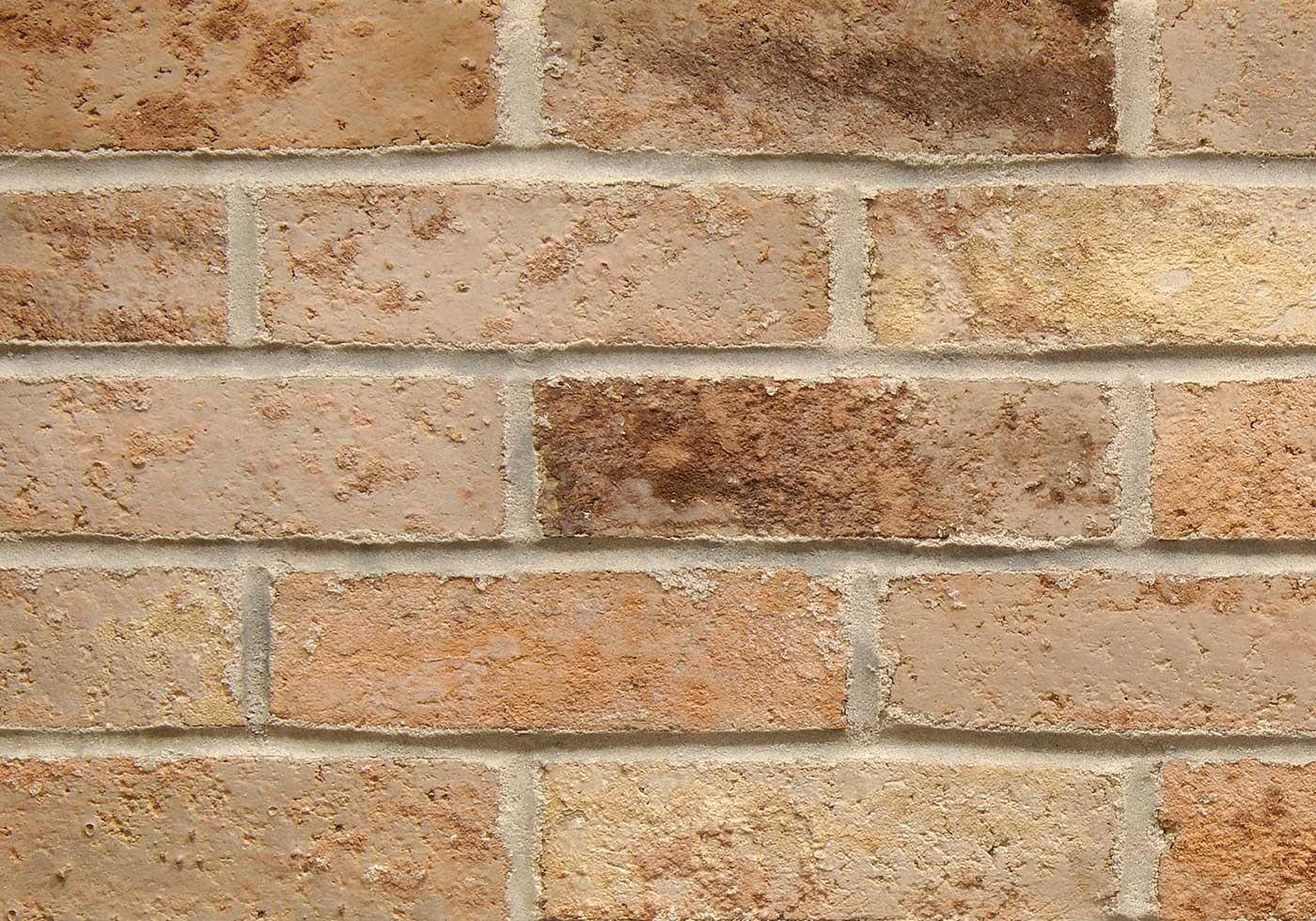 Rhodes brick close-up