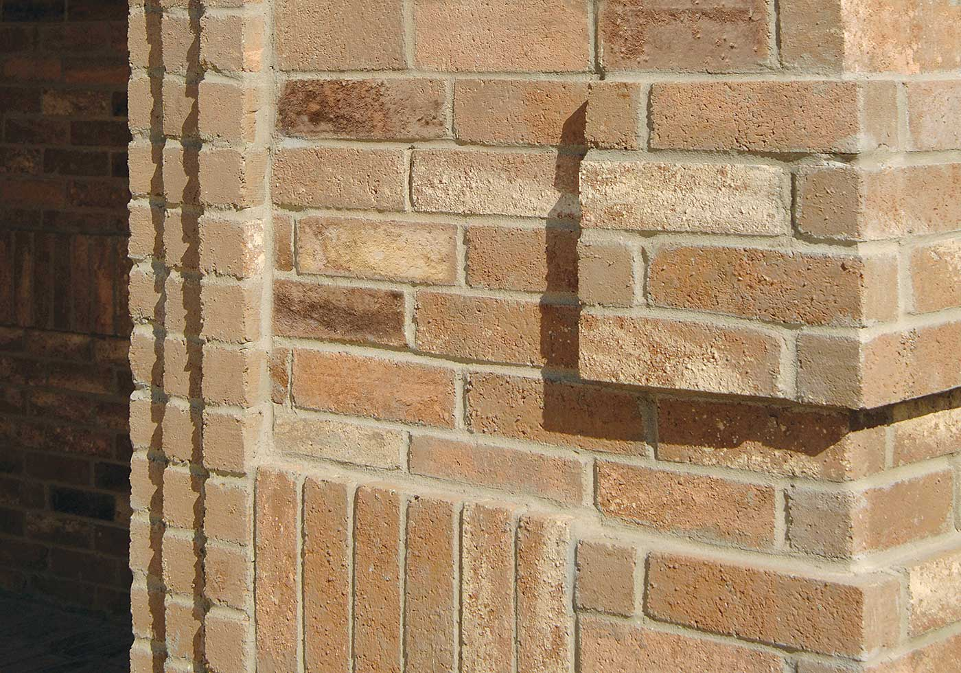 Rhodes brick detail
