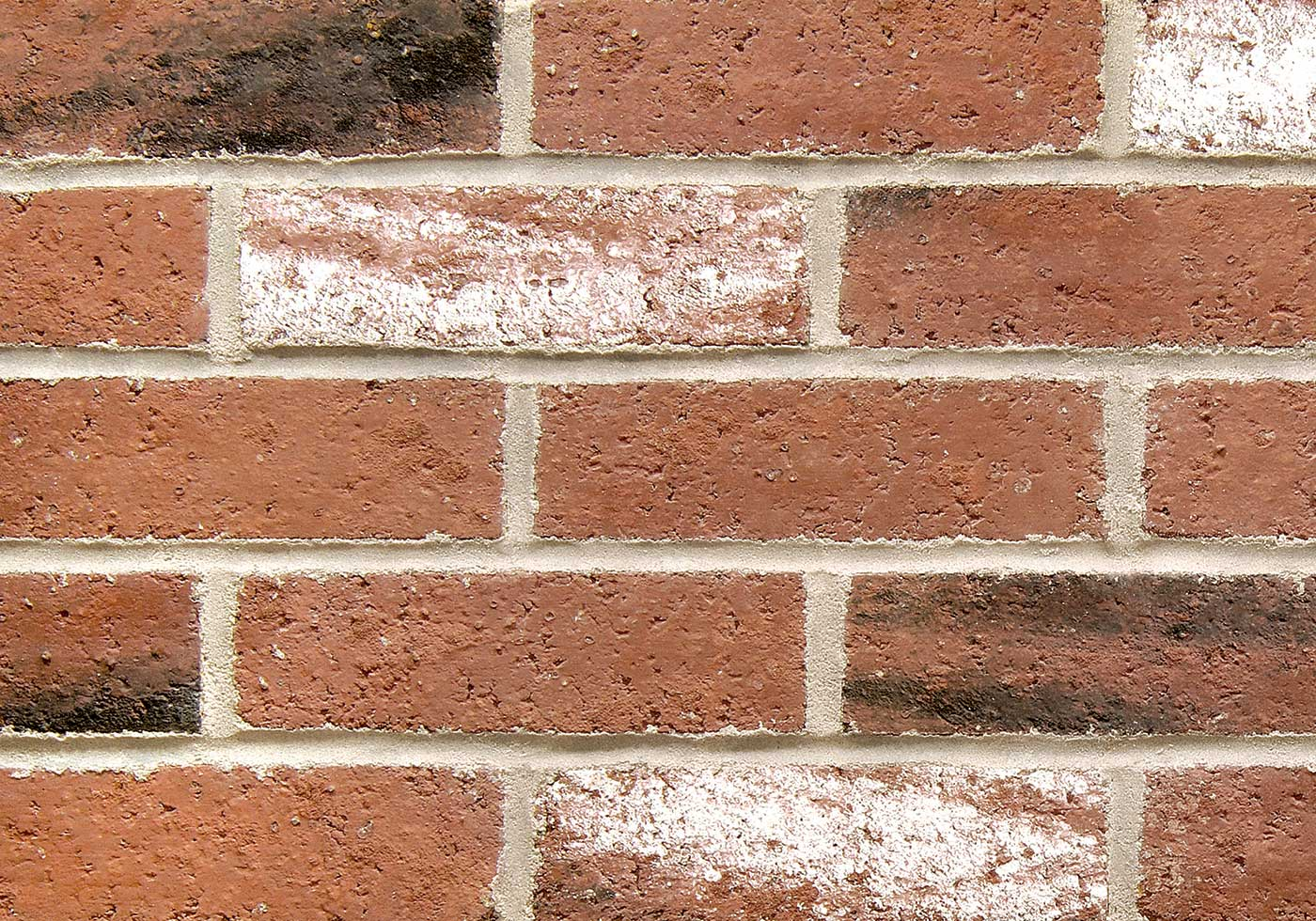Williamsburg brick close-up