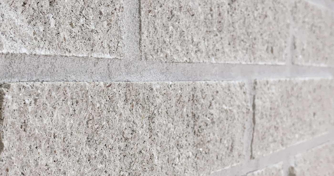 Bilco Split Face Brick - Stonehenge - Angled Close-Up