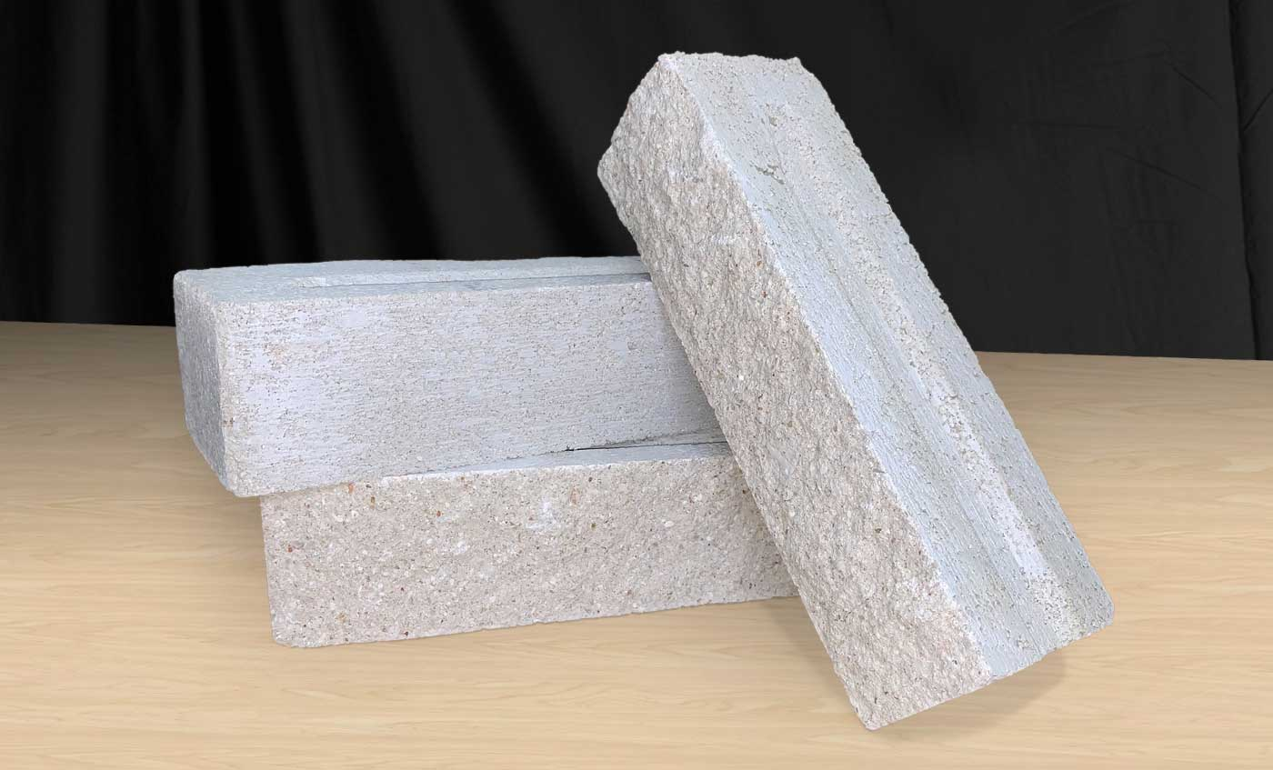 Bilco Split Face Brick - Stonehenge - Front and Back