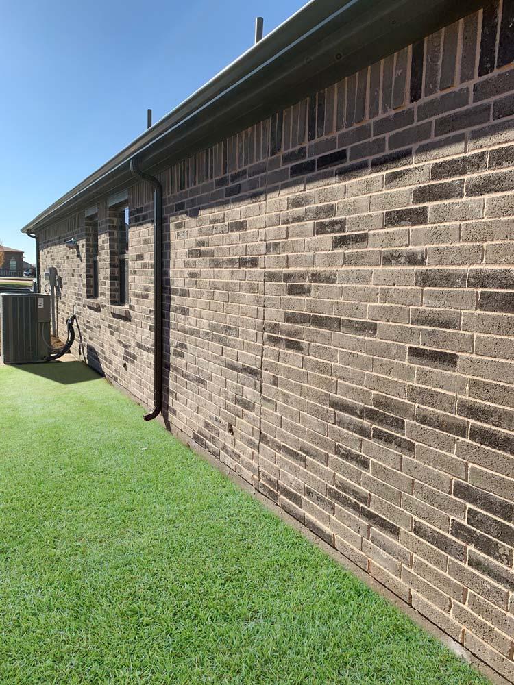 Dartford by Bilco Brick side of house